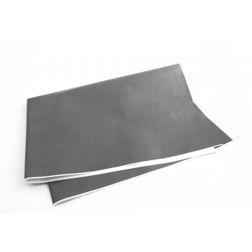 Papel de embrulho cinza...
