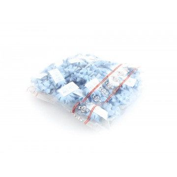 Laço Autocolante Papel Azul...