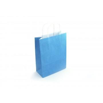 Saco Liso Azul - Pack 25 un.