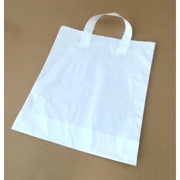 Saco Plástico Branco c/ Asa...