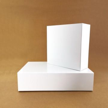 Caixa Rígida com Íman Branco
